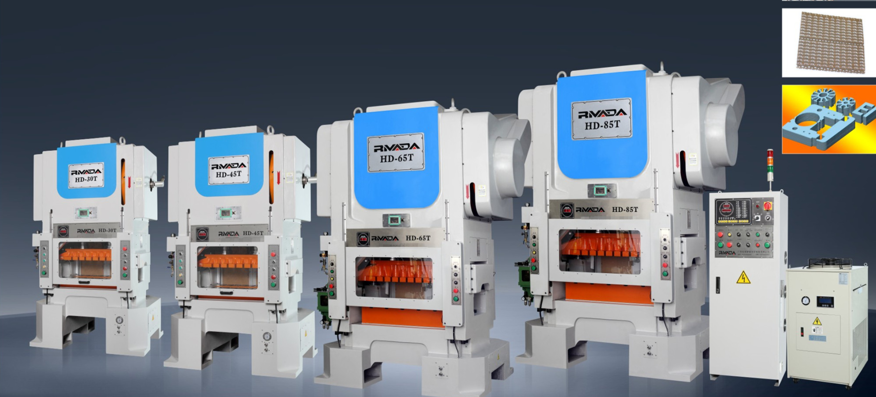 H frame high speed press machine