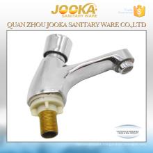 Iron body cheap self closing time-delay basin faucet taps