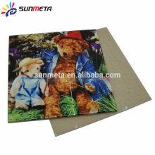 Sunmeta factory supply blank sublimation ceramic tile printing tiles 100*100