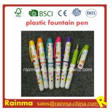 Farbe Kunststoff Füllfederhalter mit schöner Farbe