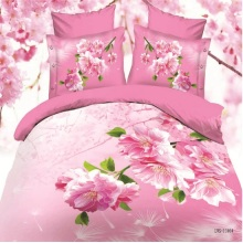 Fantastic Bedclothes Bed Cover Pillow Case 3D Digital Print Bedding Set