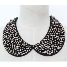 Woman Fashion Costume Jewelry Bead Crystal Necklace Collar (JE0143)