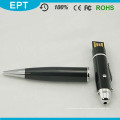 Color negro de la pluma de la forma del lápiz del laser del punto Pendrive (EP100)