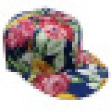Blumen-Stoff-Baseballmütze mit Hysteresen Sb1595