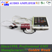 amplificador de potência profissional amplificador de auscultadores amplificador de bateria recarregável