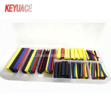 Colorful Heat Shrink Tube dengan kotak