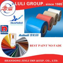 Luli Gruppe Tansania Algerien SGCC Farbe beschichtet verzinktem Wellblech gewellten Dachbahn
