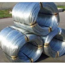 Alambre de acero / hierro galvanizado electro