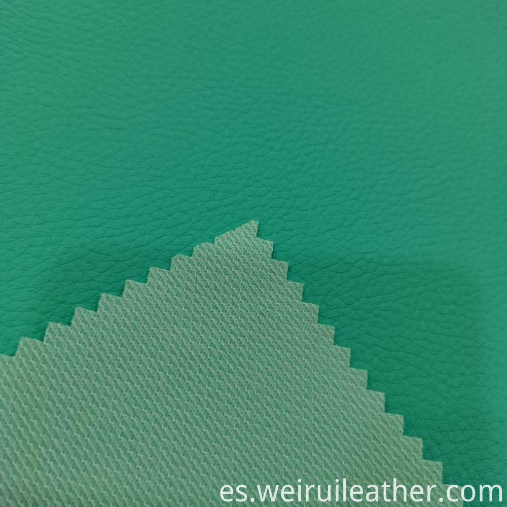 0 6mm Clear Lychee Grain Pvc Leather