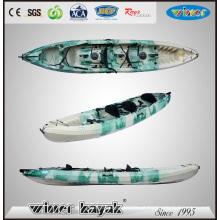 4,5 m de plástico sentar-se no topo Trio Famaily Use Kayak