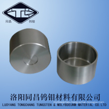 Pure Forged Small Tungsten Alloy Crucible in Densoty 17.5g/cm3