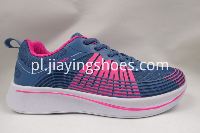 Blue Breathable Mesh Shoes