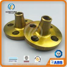 ANSI B16.5 Brida de acero Crabon Brida de soldadura a tope Bw (KT0390)