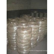 fil galvanisé par immersion à chaud (usine)