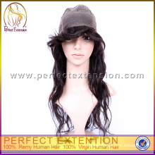 For Women Top Quality Natural Looking Human Hair Mono Top Wig