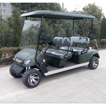 carrello da golf da resort di alta qualità a 4 posti