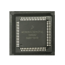 MCU 8-bit HC08 CISC 32KB Flash 5V 64-Pin PQFP Tray  ROHS  MC908AZ32ACFUE