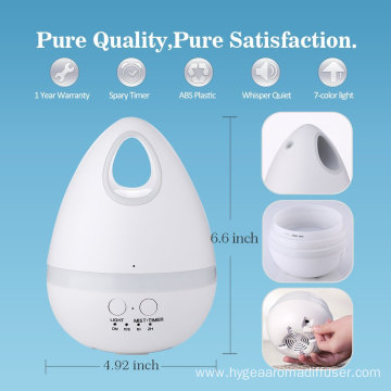 200ml Vaporizer Facial Steamer Humidifier For Essential Oils
