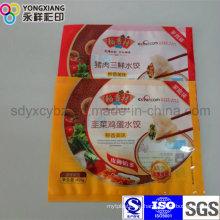 Food Grade Frozen Dumplings Plastic Packaging Bag