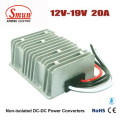 12V to 19V 20A DC-DC Converter Step up Voltage Regulator