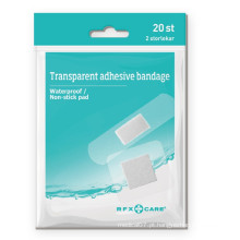 Penso para bandagem adesiva transparente Aqua Block
