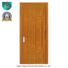 Chinesische Art HDF Tür für Eingang mit brauner Farbe (ds-098)