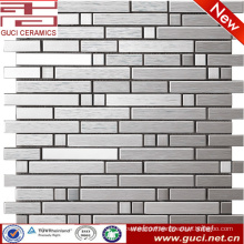 wall decoration living room stainless steel mosaic tiles