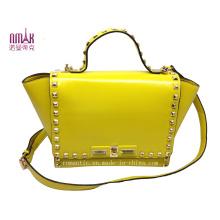 Fashion Pill Rivets Candy-Color Shoulder Bag N-1081
