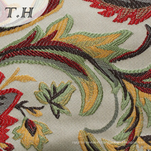 Tissu de rideau en tissu Jacuqard coloré de haute qualité