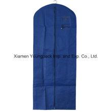 Bolso largo de la cubierta de la ropa del vestido del azul real