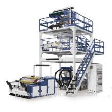 Machine de soufflement de film de PE de trois couches d'ABA avec le matériel de recyclage