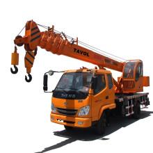 Grúa móvil de camión hidráulico chino con capacidad de 10t