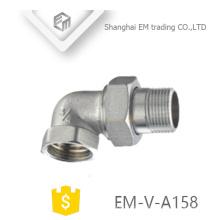 ЭМ-Фау-A158 Латунь 2-полосная Автоматическая радиатор угол Клапан сторона