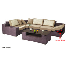 Functional Sofa Set Wicker Rattan Outdoor Furniture Bp-865