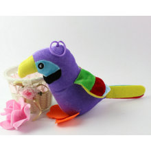 Cute Jungle Animal Stuffed Bird Toy Parrot Soft Toy for Sale