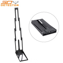 Stainless Steel Telescoping Inspection Mirror Folding Under Car Search Mirror with LED Light