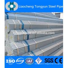 galvanized steel round tube/pipe