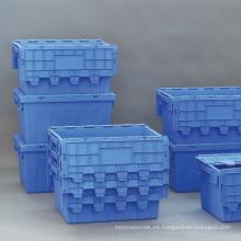 Envases de plástico anidados para almacenamiento