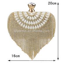 Сердце Обостряла женщин вечер клатч мешок невесты для Свадебные вечерние использовать для новобрачных сумки B00013 модные сумки 2015