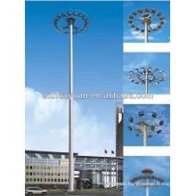 15m high mast lighting pole