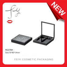 2 Colors Square Custom Makeup Case With Mirror