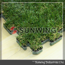 Artifical Interlocking grass floor for football