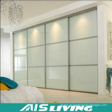 Armario moderno del guardarropa de la puerta deslizante de los muebles caseros (AIS-W978)
