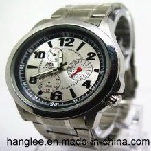 Горячая Распродажа из нержавеющей стали часы и модные Мужские наручные часы