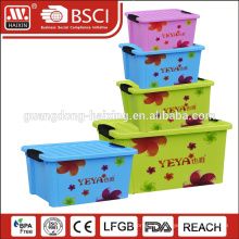 Boîte de rangement hermétique en plastique alimentaire de 3L avec bague d'étanchéité
