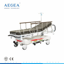 AG-HS001 5-function hydraulic system surgery hospital manual patient emergency stretcher price