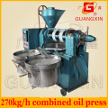 Guangxin 270kg/H Maize Oil Making Machine with Vacuum Oil Filter Yzyx120wz