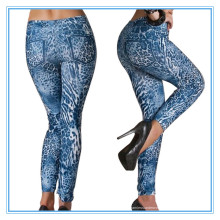 3D impresso Sexy Seamless Mulheres Jeans Leggings