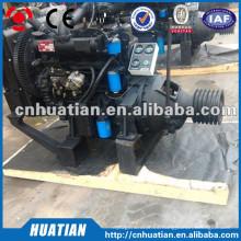 Motor diesel de Weichai R6105IZLP 120KW con el embrague y la polea