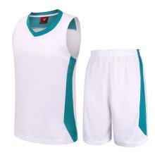 Poliéster Basquete Jersey Uniforme Design